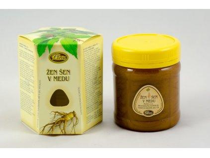 Žen šen kořen v medu